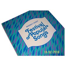 Vintage Festival of Popular Songs from the Reader's Digest.