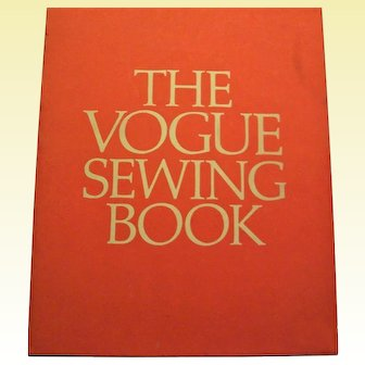 Vogue Sewing Book, 1970, First Edition Hardcover