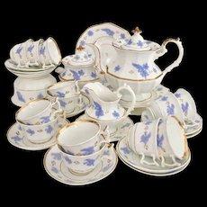 Stunning Samuel Alcock full tea and coffee service, neo-Rococo 1840