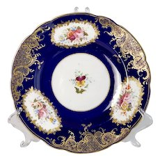 Coalport dessert plate, The North Euston, 1841-1860