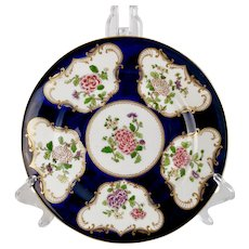 Crown Staffordshire plate, remake of Regency Chinoiserie design, 1906-1930