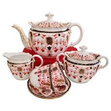 "Royal Crown Derby ""tête à tête"" tea service, imari patt. 5231, 1899"