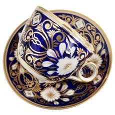Herculaneum teacup, bute shape, 1800-1815