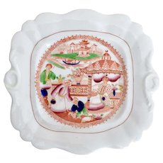 Hilditch plate, Boy with the Spotted Dog pattern, ca 1815