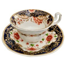 Staffordshire mix and match teacup, Imari ca 1820