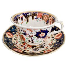 Staffordshire mix and match teacup, Imari ca 1815