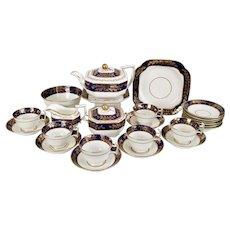Spode tea service, Felspar Porcelain 1815-1820