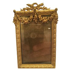 Antique French Bronze Frame