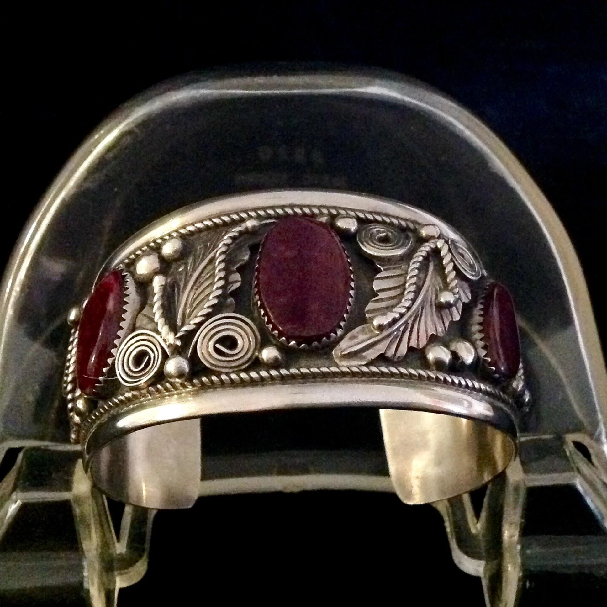 Fannie Platero Navajo Sugilite and Sterling silver