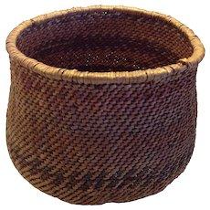 On Sale $145, Vintage Southwest Native American Basket, Large Havasupai basket, Circa 1920's
