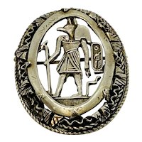 Egyptian Revival Pin, sold Separately