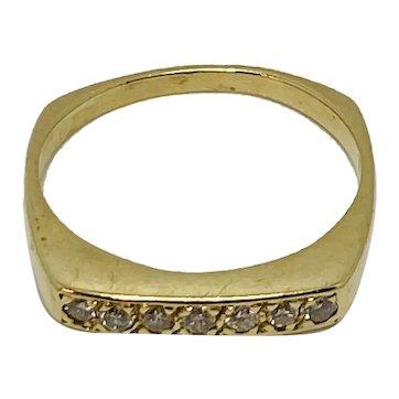 14K Yellow Gold Diamond Band 1.20CTW, lovely beautiful diamonds