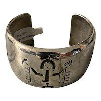 Native American OLD Pawn Yei cuff, The Navajo yeii or yei (Navajo: yéí or yé'ii) spirit deity of the Navajo Nation