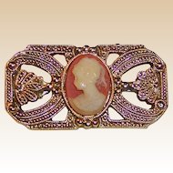 1928 Jewelry Co. Cameo Bar Pin