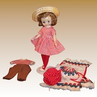"""American Character  8"""" Betsy McCall Doll;  Little Cook, Pony Pals and  Sun N' Sand Outfits"""