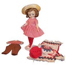 "American Character  8"" Betsy McCall Doll;  Little Cook, Pony Pals and  Sun N' Sand Outfits"