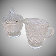 Wexford Creamer and Sugar Set