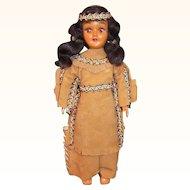 Vintage Native American Doll