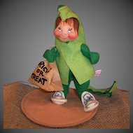 "Annalee Trick or Treat Kid Halloween Dragon Costume 8"" Doll"