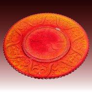 Amberina 40th Anniversary Plate