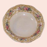 "Baronet China: ""Plaza"" Rimmed Fruit / Berry Bowl 5 1/2"""