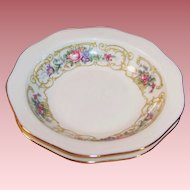 "TWO: Baronet China: ""Plaza"" Rimmed Fruit / Berry Bowls 5 1/2"""