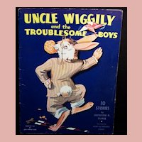 Uncle Wiggily and the Troublesome Boys ~ 1943; 10 STORIES