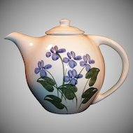 40 Ounce Blue Forget Me Not Emerson Creek Pottery Teapot