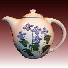 40 Ounce Blue Forget Me Not Emerson Creek Pottery Tea Pot