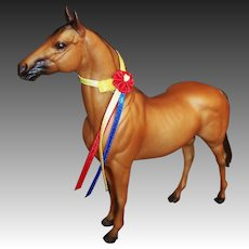 Breyer B-Ranch 288 TUMBLEWEED with Neck Ribbon Light Bay 1997