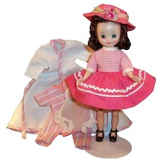 Beautiful American Character 1950's Betsy McCall in Pink and PJ's and....more...