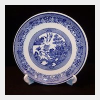 """9 1/8"""" Blue Willow Luncheon or Salad Plate"""