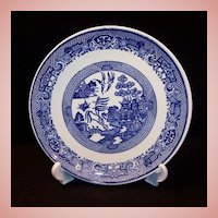 "9 1/8"" Blue Willow Luncheon or Salad Plate"