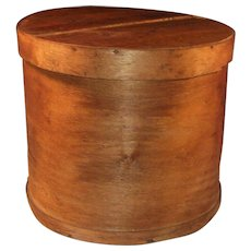 Large & Tall Shaker Style Bentwood Cheese or Pantry Box