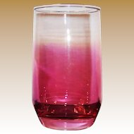 Cranberry Flashed Juice Tumbler