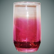 Cranberry Flashed Juice Tumbler