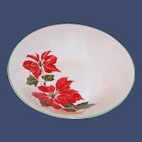 Cuthbertson Christmas Poinsettia Serving Bowl