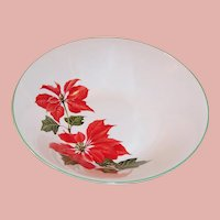 Cuthbertson Christmas Poinsettia Serving Bowl