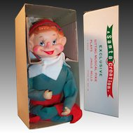 A Santa Creation: Large Pixie Elf & Original Box