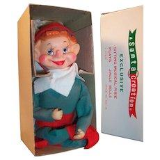 A Santa Creation: Large Pixie Elf & Original Box