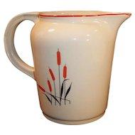 Universal Cambridge Potteries Cattails 40 OZ Pitcher / Jug