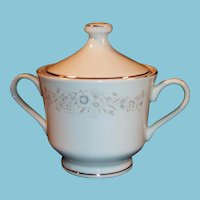 Diamond China Winchester Covered Sugar
