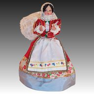 Eros Spanish Costume Doll Lace Mantilla Made In Italy