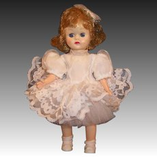 "Vintage A&H Doll Corp 8"" GIGI Walker Doll"