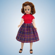 Vogue 1950's Brunette Jill Doll BKW (Bent Knee Walker)