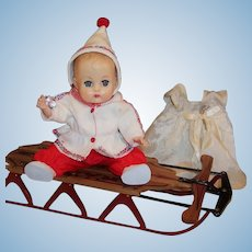 Vogue 1957 Ginnette Baby Doll Ready for Winter!