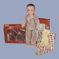 Vogue Jeff Boy Teen Doll; Robe, Pajamas, Slippers, Swim Trunks, Boxes & more....