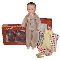 Vogue Jeff Boy Teen Doll; Robe, Pajamas, Slippers, Swim Trunks, Boxes & more....