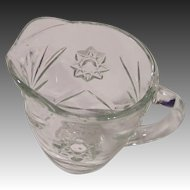 Early American Prescut (Star of David) Creamer