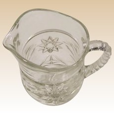 EAPC Star of David Small Milk or  Juice Pitcher